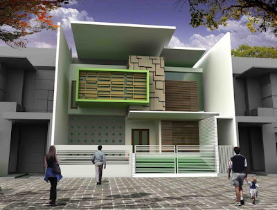 flowers minimalist house design image model rumah idaman