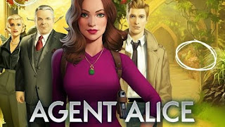 Screenshots of the Agent Alice for Android tablet, phone.