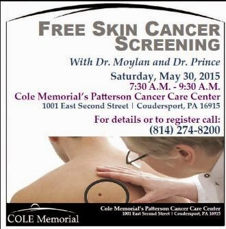 5-30 Free Skin Cancer Screening