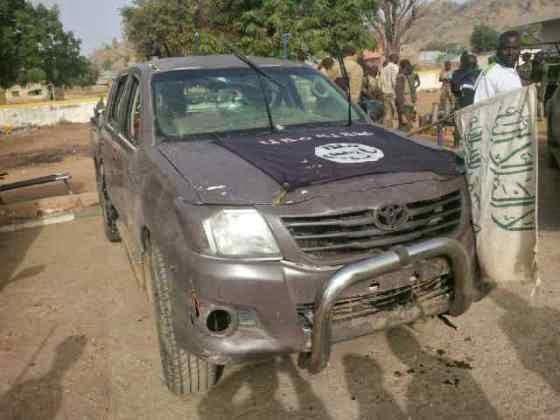 nigerian army seizes weapon boko haram