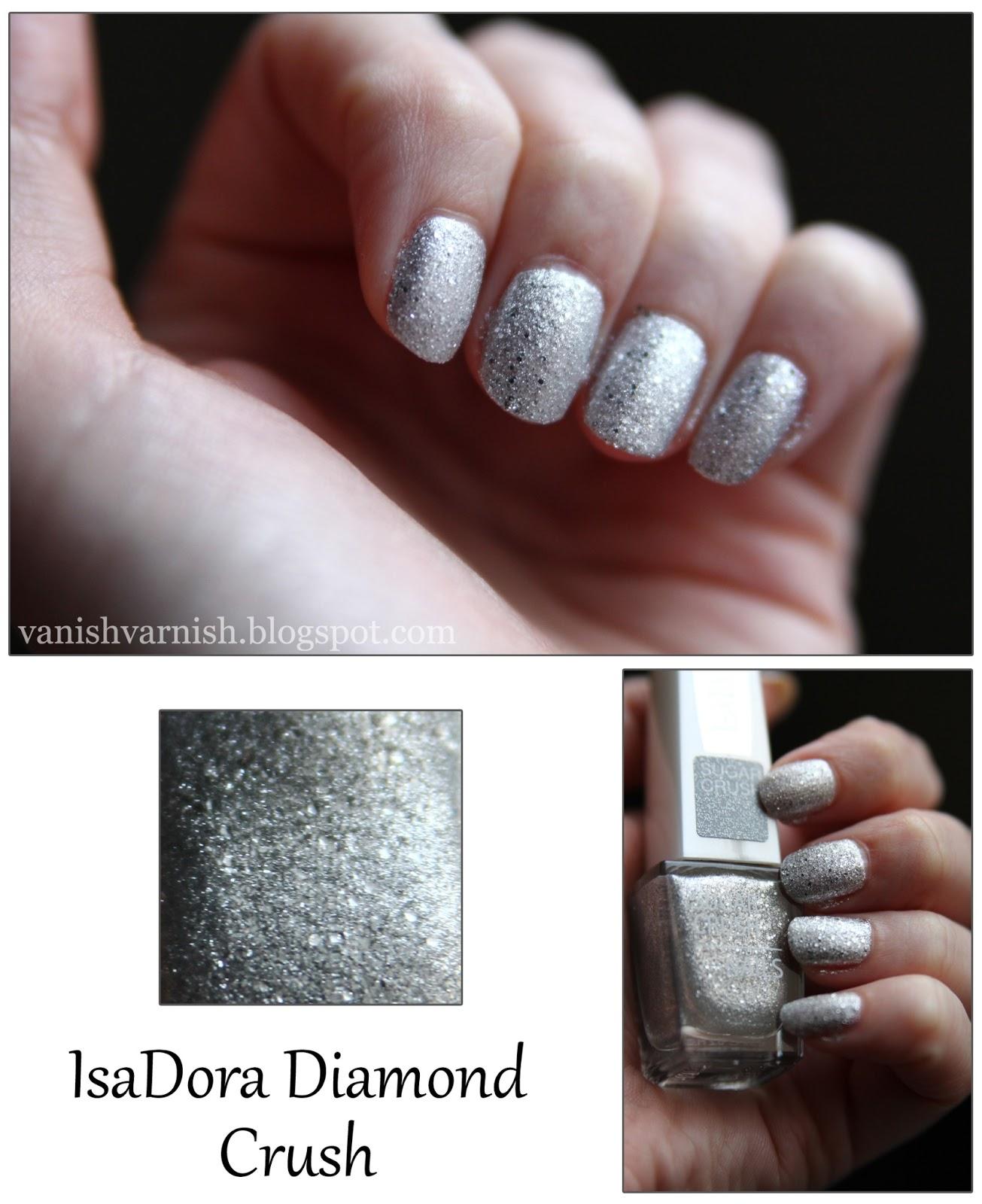 Vanish varnish? Never on this blog: IsaDora Diamond Crush