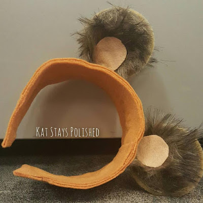 DIY Ewok Ears | Star Wars | Kat Stays Polished