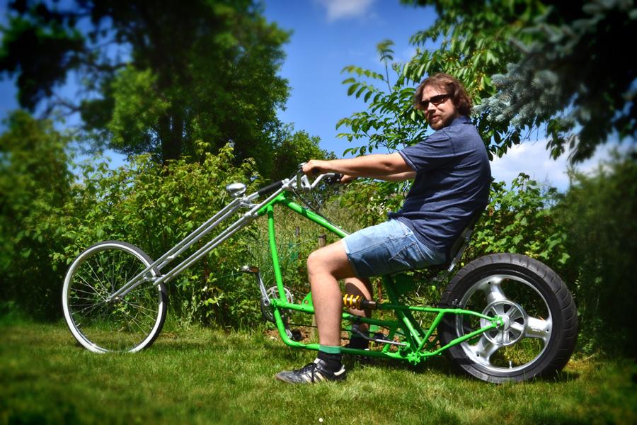 homemade mini bike build part 3 (mini trike) homemade drift trike