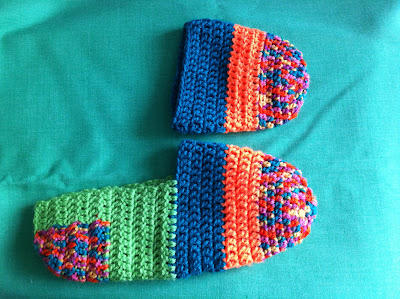 Chochet Socks/slippers For the Family