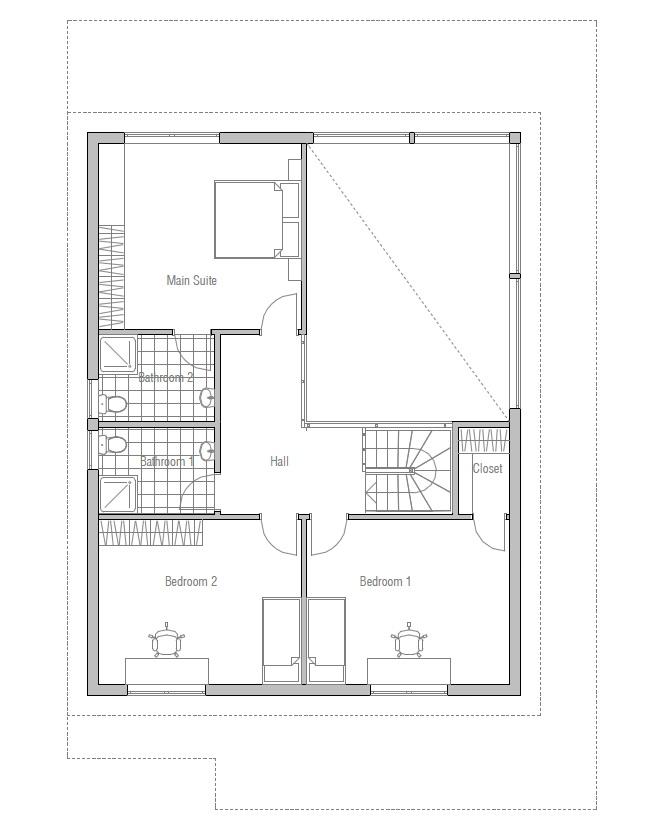 Australian house plans australian home design oz46 for Modern australian house plans