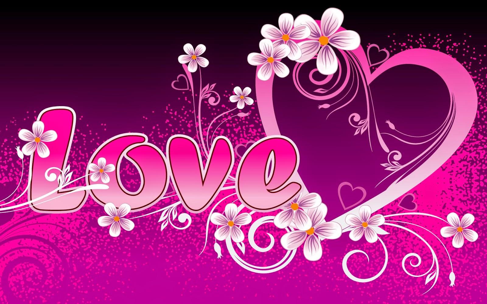 Gambar kartun bentuk love keren
