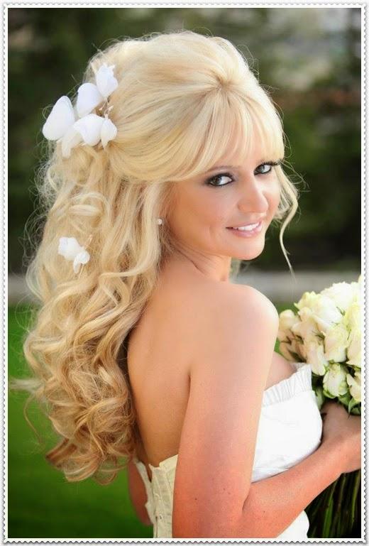 Brautfrisur Lange Haare Offen Zonnereizen