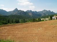 Vistes de la cara nord de la Serra de Picancel