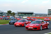 Ferrari Guinness World Record at Silverstone by Charles Davis Photos (ferrari )