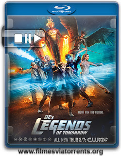 Legends of Tomorrow 1ª Temporada Torrent - WEB-DL 720p Dual Áudio (2016)