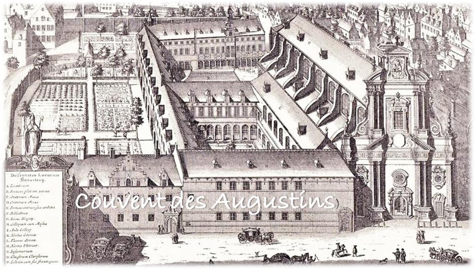 Place de Brouckère - Ancien couvent des Augustins - Bruxelles-Bruxellons