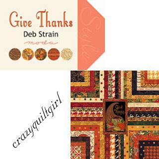 Moda GIVE THANKS Quilt Fabric by Deb Strain