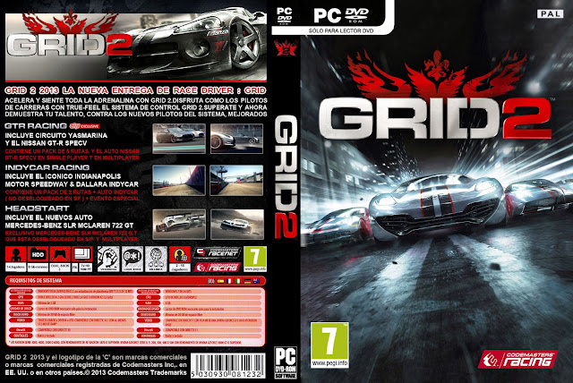 GRID 2: Race Driver (PC) [MEGA] 1 Link