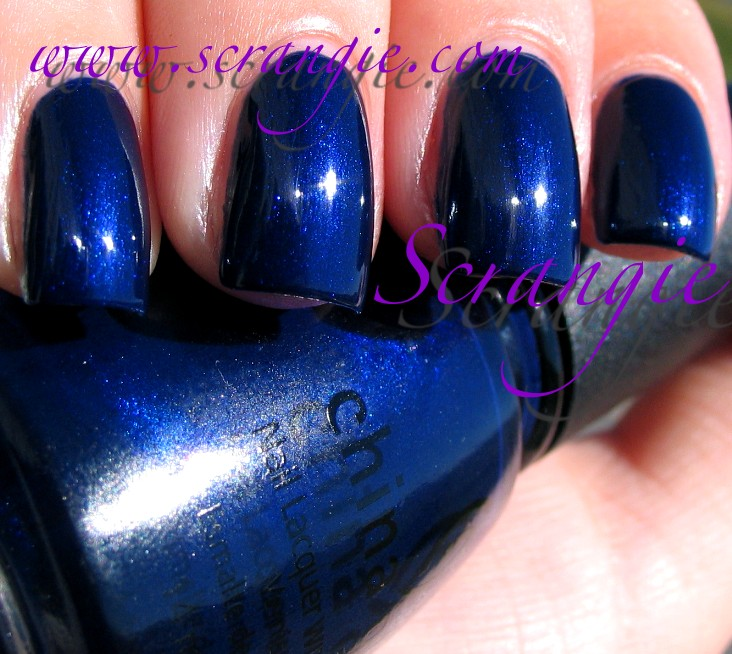 Blue Nail Polish The Block: Scrangie: Swatching My China Glaze Collection, Part 3