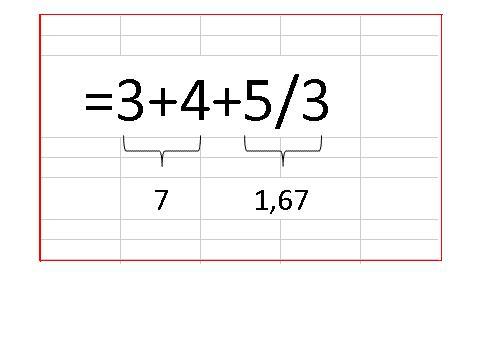 Operaciones Matemáticas en Excel