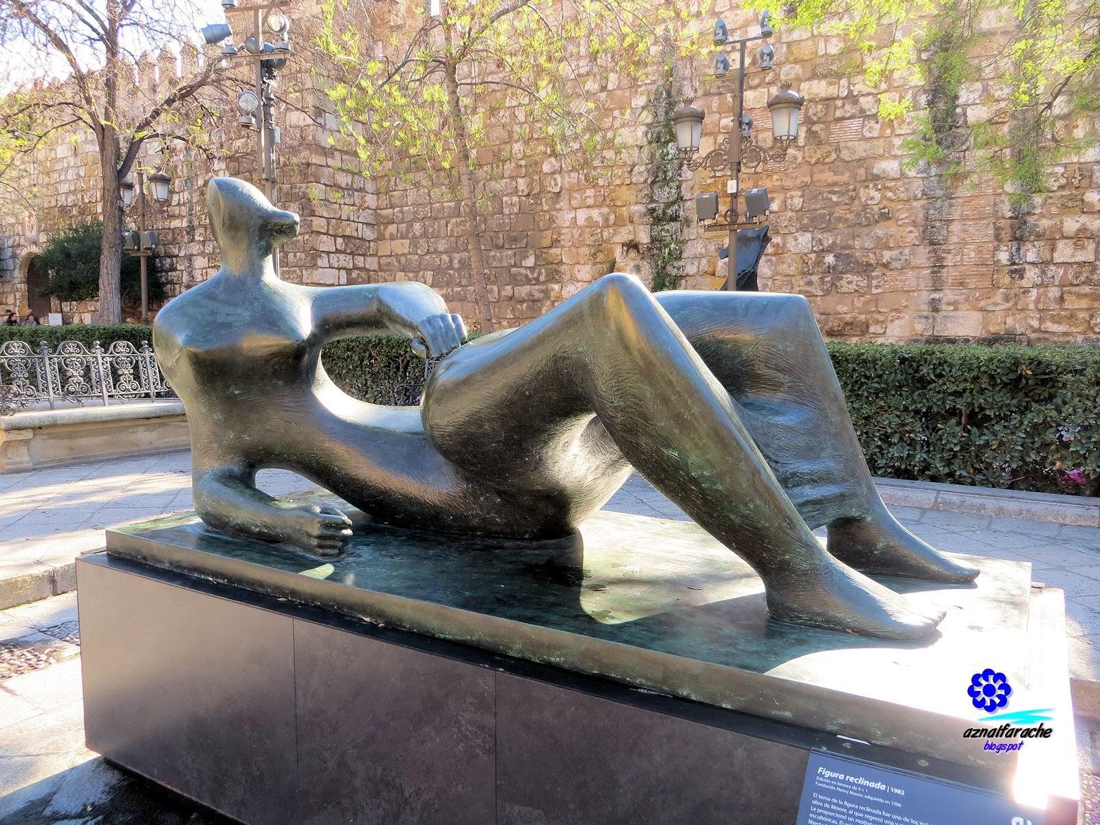 Figura reclinada - Henry Moore - 1982
