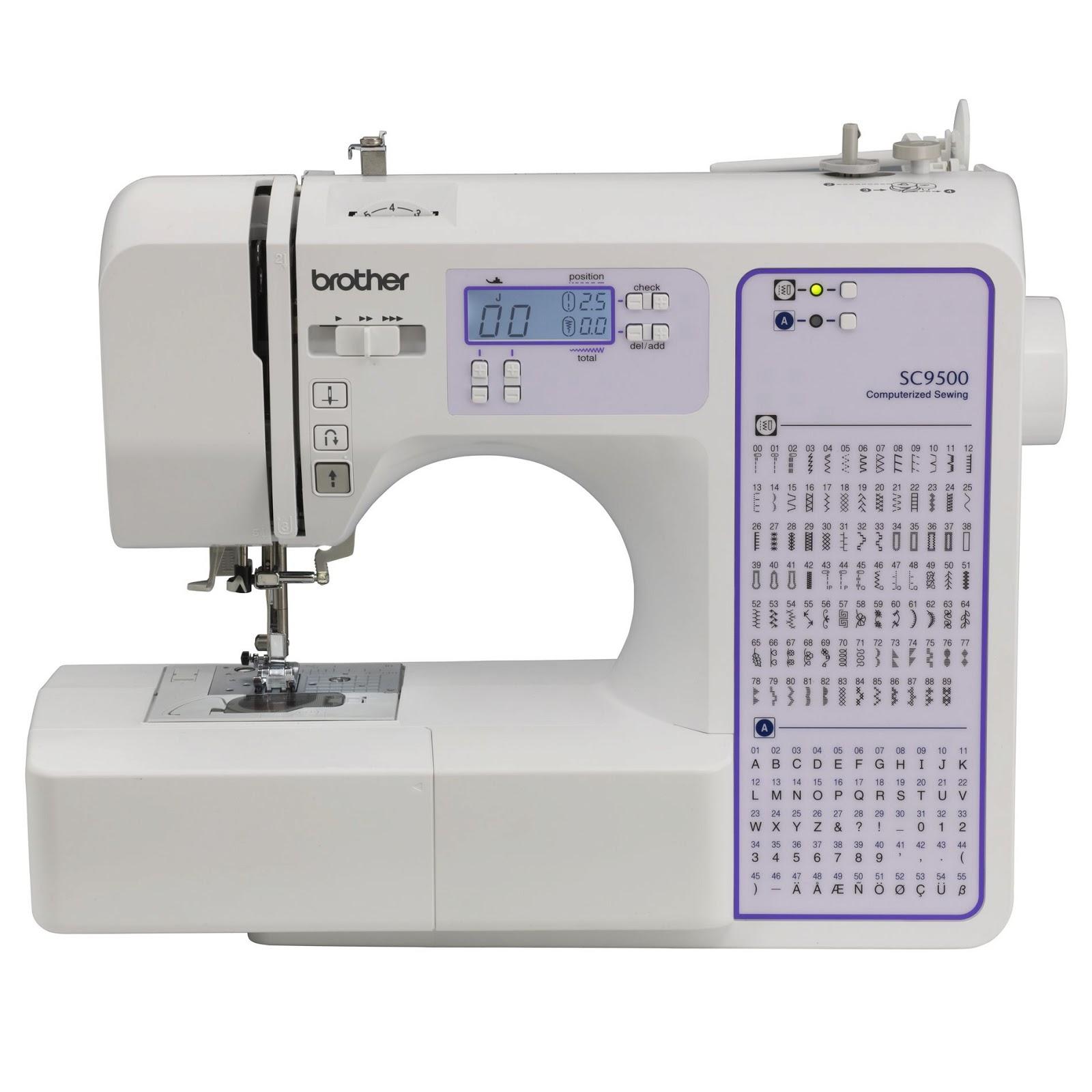 sewing machine retail