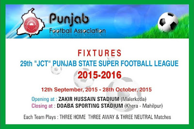 Punjab State Super Football League 2015-16