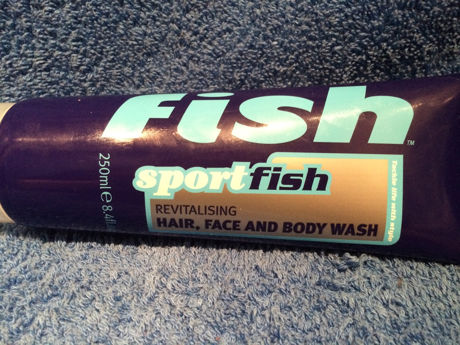 Fish Sportfish Revitalising Hair, Face and Body Wash