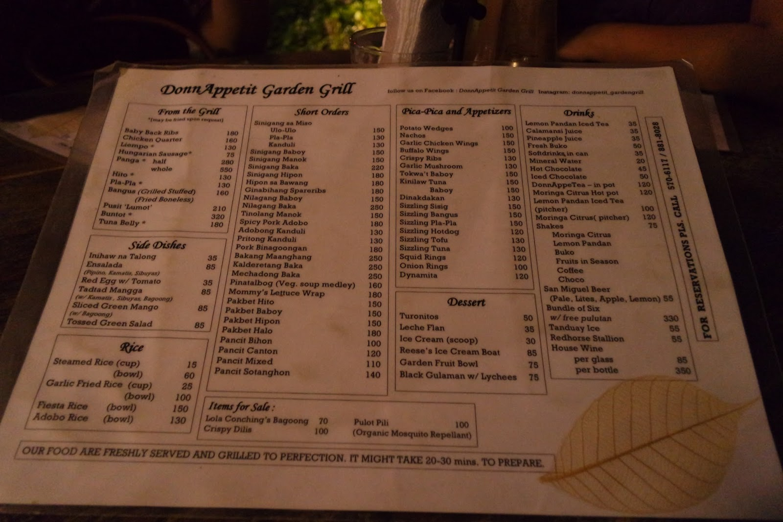 Mama Speaks: DonnAppetit Garden Grill ~ A Perfect Night Out wth My Girls