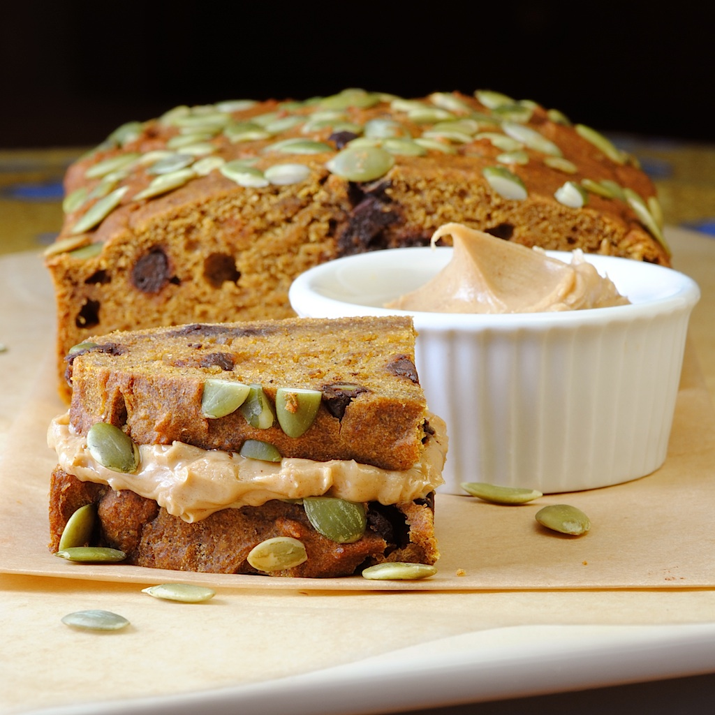 JULES FOOD...: Low Fat Pumpkin Bread w/Chocolate Chips