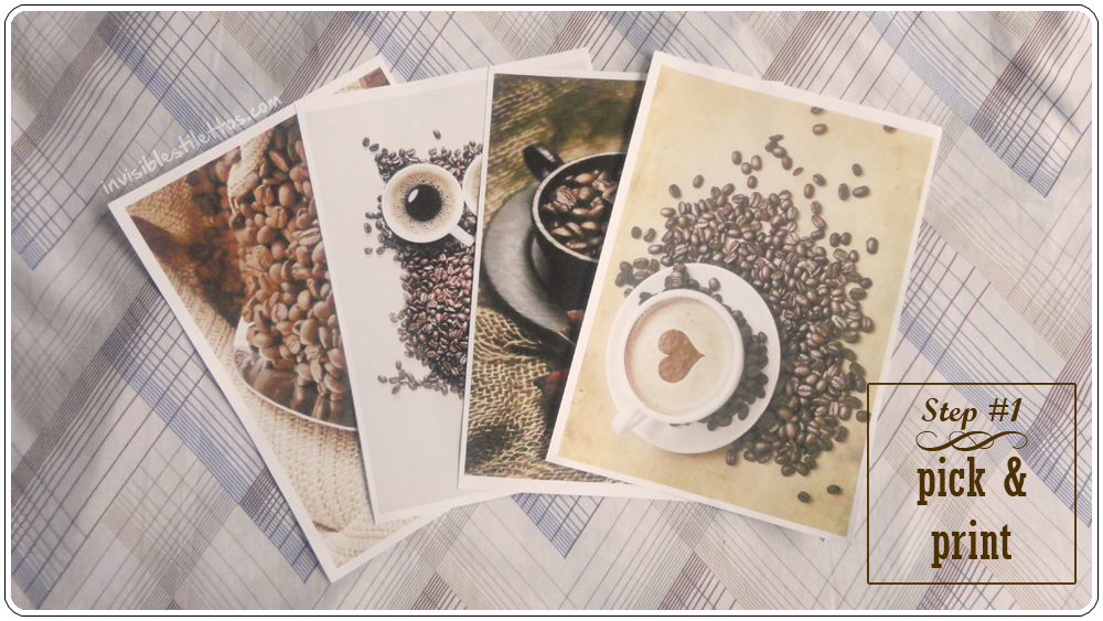 Printed Coffee Prints (For Coffee Bar)