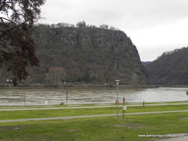 Rochedo de Loreley e o rio Reno