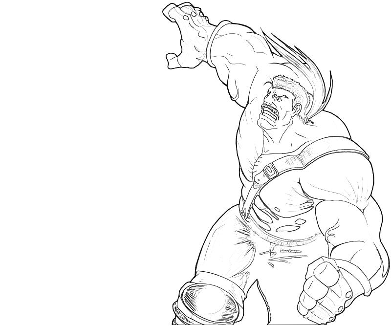 free strong man coloring pages - photo#40