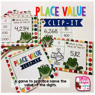https://www.teacherspayteachers.com/Product/Place-Value-Clip-It-Card-Game-for-Centers-2086359