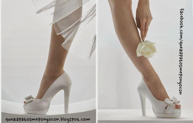 Zapatos en oro y plata para novias e invitadas del 2018