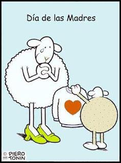 Chiste gráfico sobre el día de la madre