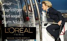 Von der Leyen profitiert von Sturm Niklas