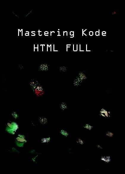 Mastering Kode HTML Full