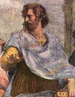 filósofo Aristóteles por Rafael