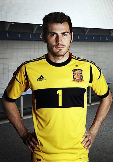 camiseta Iker casillas selección española Eurocopa 2012