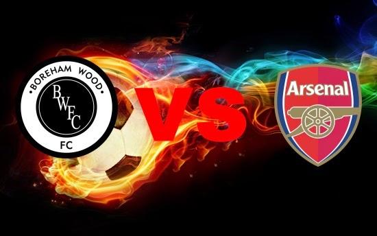 Prediksi Skor Terjitu Boreham Wood vs Arsenal jadwal 19 Juli 2014