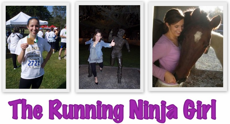 The Running Ninja Girl