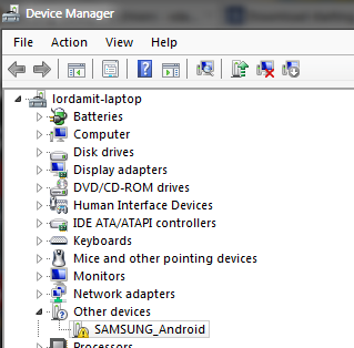 Galaxy S II Windows Drivers