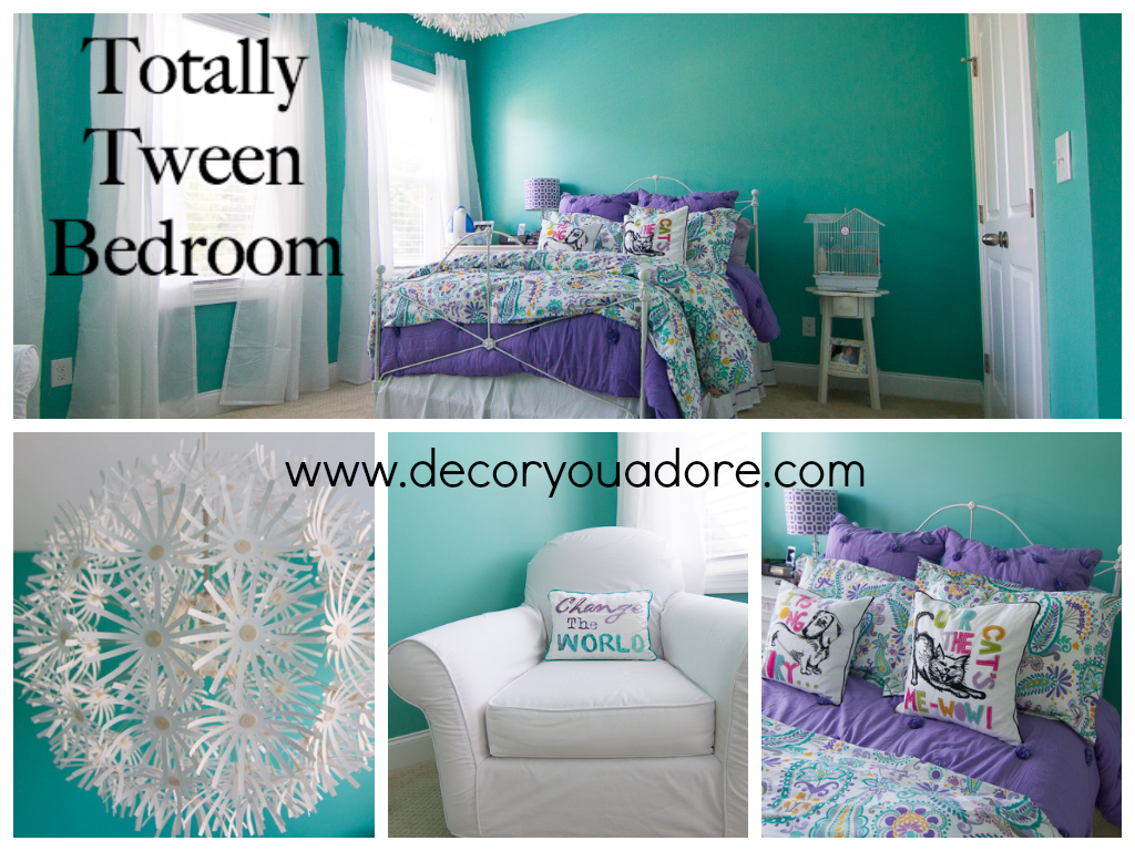 Decor You Adore Tween Room Fit For A Queen