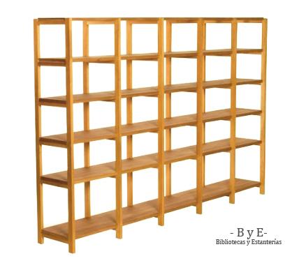 Bibliotecas y estanterias abril 2013 - Estanterias modulares de madera ...