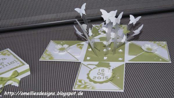 Naja Und Die Täubchen Mussten Dieses Mal Den Schmetterlingen Weichen Den  Die Einladungskarte War Ebenfalls Mit Schmetterlingen Und Das Thema Sollte  Ich Mit ...