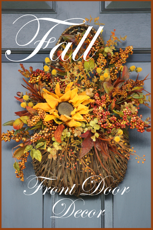StoneGable: FALL DOOR DECOR