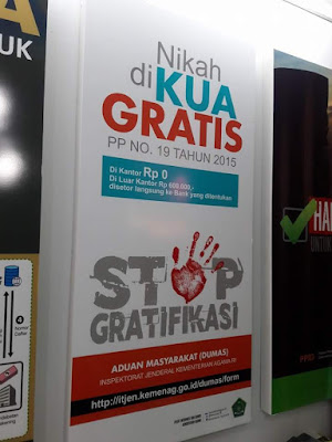 Biaya Pernikahan Resmi KUA Di Indonesia Gratis, Benarkah ?