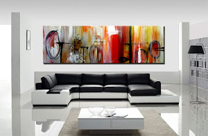 "Abstract Painting ""Memories"" by Dora Woodrum"