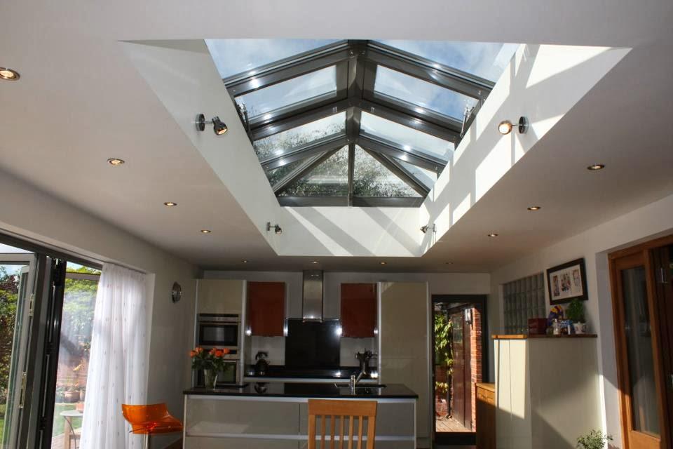 Roof Lantern , Lantern Light , Kitchen Lisa Melvin Design