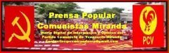 SALUDO INICIAL DE PRENSA POPULAR COMUNISTAS MIRANDA