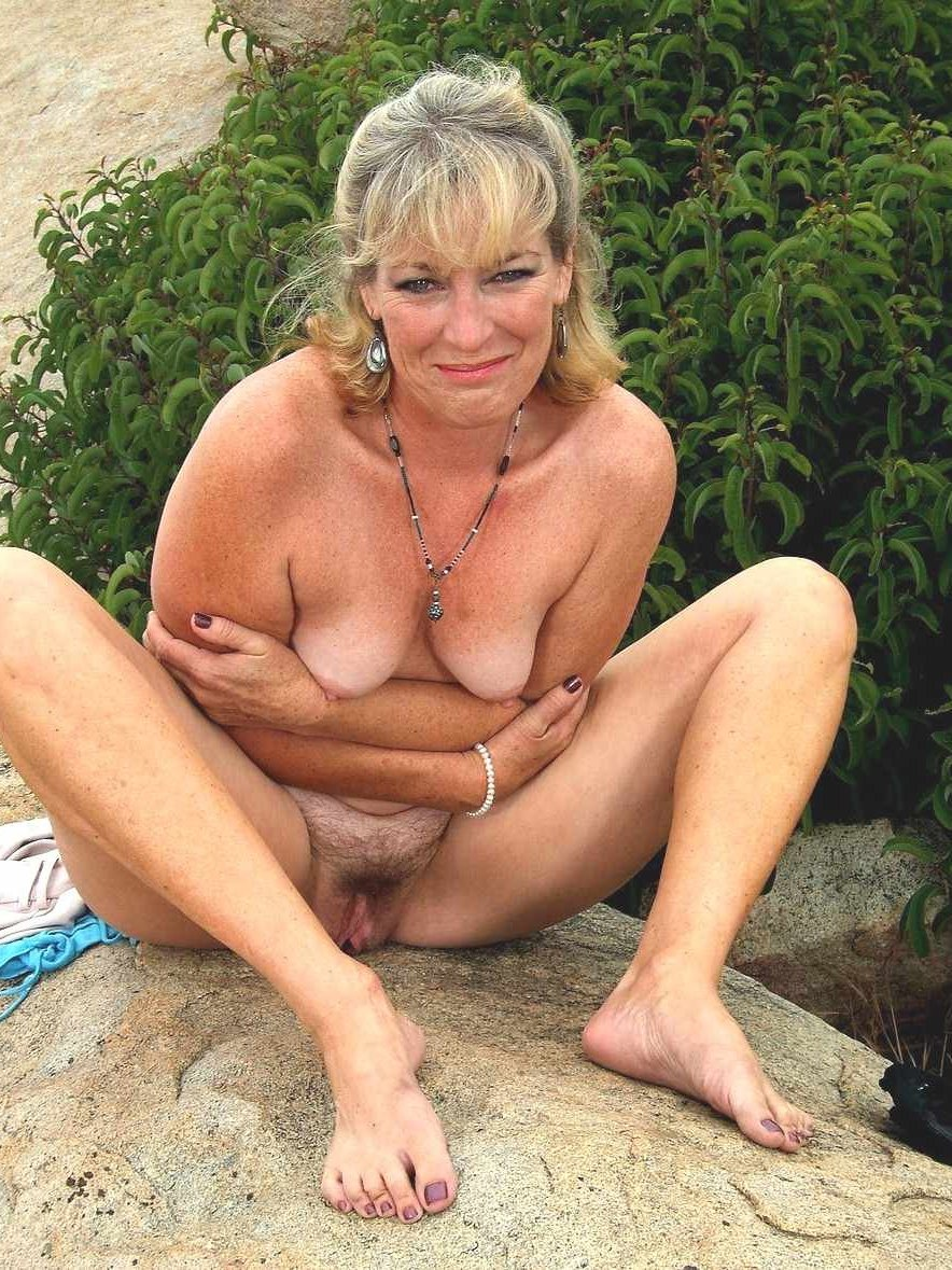 Mature outdoor nudists