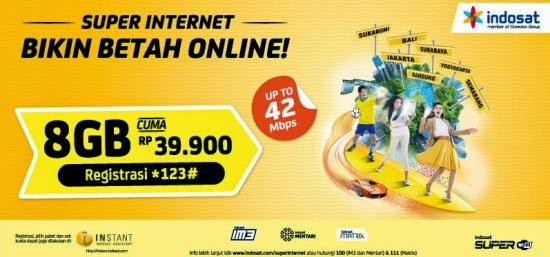 Daftar Harga Paket Internet IM3