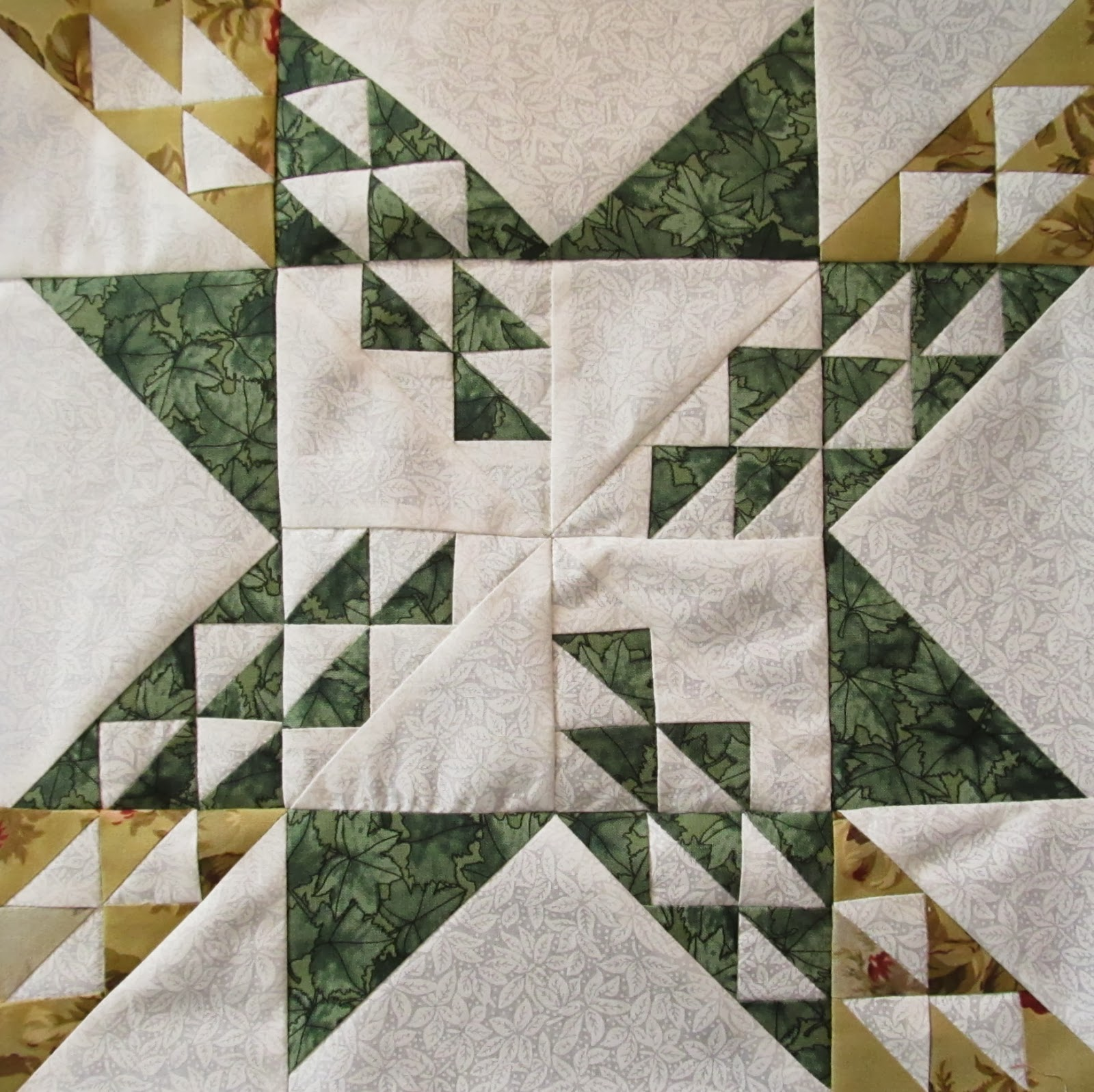 how to cut down a quilt block