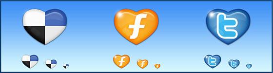 Seodesign Free Social Web Icons Set